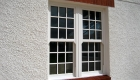 Energy efficient sash windows white