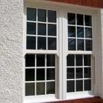 Energy efficient sash windows white