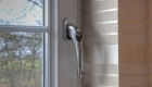 Energy efficient uPCV window handle