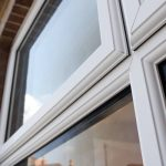 Energy efficient uPVC casement window frame