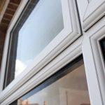 Energy efficient uPVC casement window frame