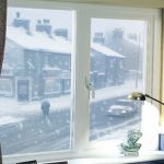 Energy efficient uPVC window