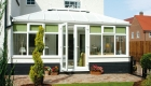 french doors conservatory installation