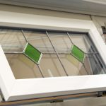 Leaded stained glazing option