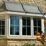 Triple glazed uPVC bay window