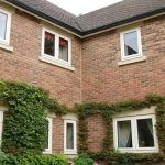 uPVC casement windows triple glazed house installation