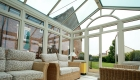 Triple glazing residential conservatory