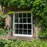 Cottage uPVC sash window