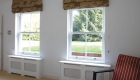 uPVC Sash windows living room installation