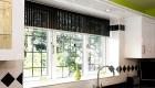 White uPVC leaded casement kitchen window