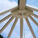 Conservatory roof replacement for a bespoke installation
