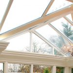 Conservatory roof replacement for a Gable installation