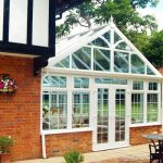Gable Conservatory installation at an English House