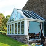 Farm House Gable Conservatory installaion