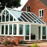 Traditional home Gable Conservatory installation