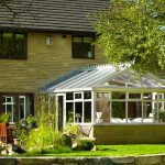 Gable Conservatory extension on a detached house