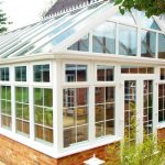 White uPVC Gable Conservatory