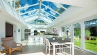 Stylish interior of a classic Orangery