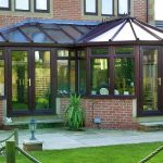 P Shaped home installation Conservatory