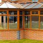Irish Oak P Shaped Conservatory