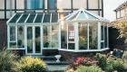 Traditional home P Shaped Conservatory