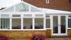 Residential P Shaped Conservatory installation