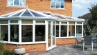 Semi Detached P Shaped uPVC Conservatory