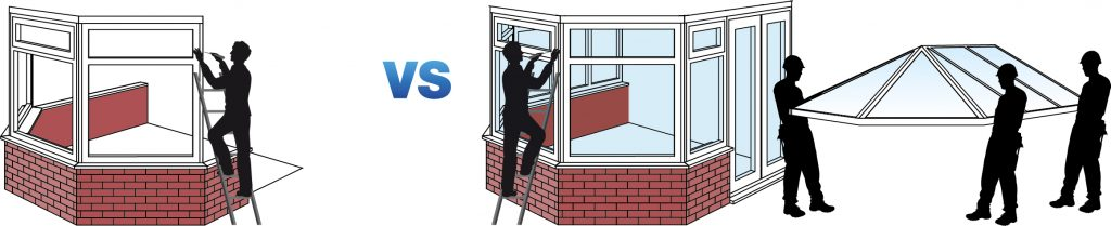 replacing your conservatory roof -DIY