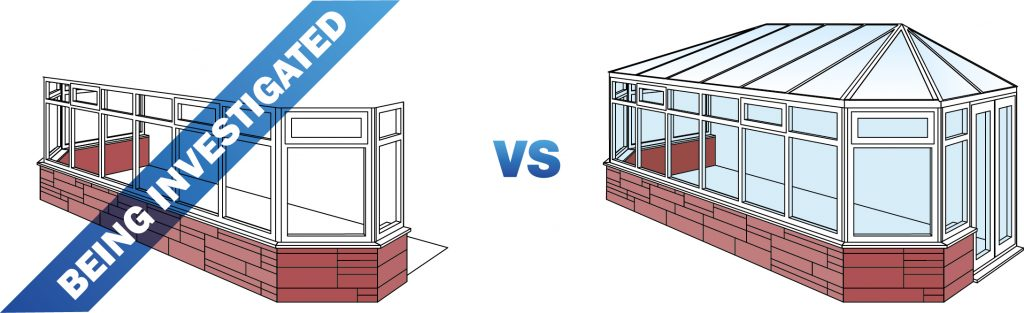 replacing your conservatory roof- approval and planning permission