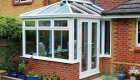 Edwardian conservatory extension installation