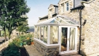 Edwardian conservatory upvc small