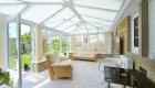 Edwardian conservatory white interior