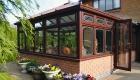 Edwardian rosewood conservatory