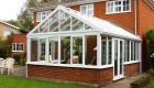 Gable conservatory double glazing