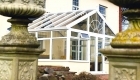 Gable conservatory white pvcu