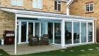 Lean-to bespoke conservatory