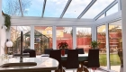 Lean-to bespoke conservatory interior