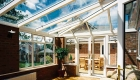 Lean to conservatory glazed roof