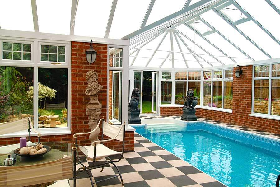 P Shaped Conservatories Win Dor