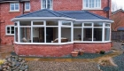 Solid roof conservatory double glazing
