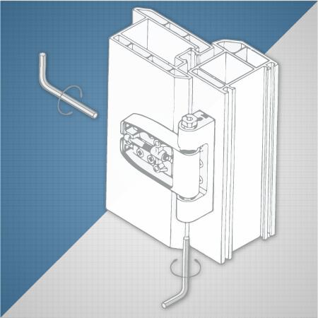 How to adjust a uPVC door | Win-Dor